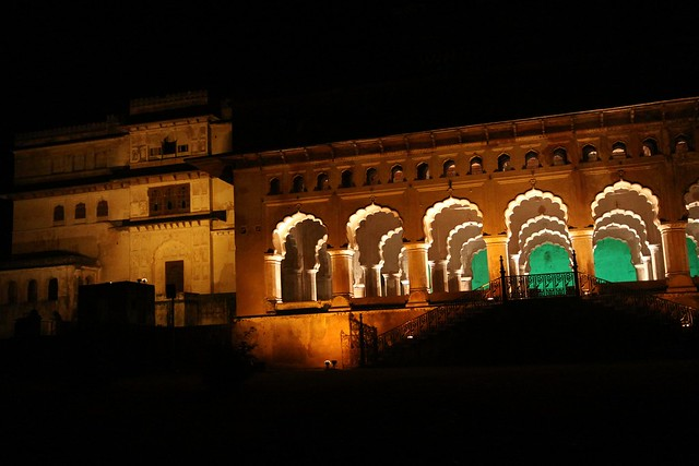 orchha sound and light show