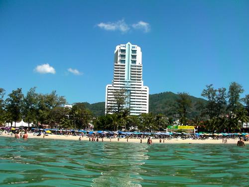 A hotel near Patong Beach