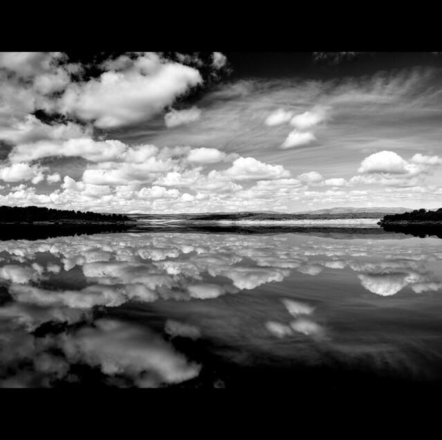 Cloudscape B&W