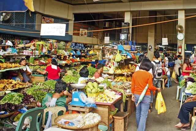 Market in Tagbilaran, Bohol, Philippines
