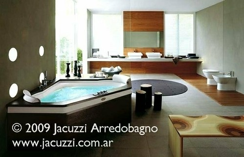 Cabinas De Ducha Jacuzzi:Luxury Bathroom Design Ideas