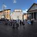 Daily life Piazza dela Rotonda, Roma, Italia by Gaston Batistini