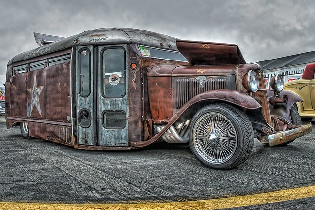 Rat Rod Bus Hot Rod Thing