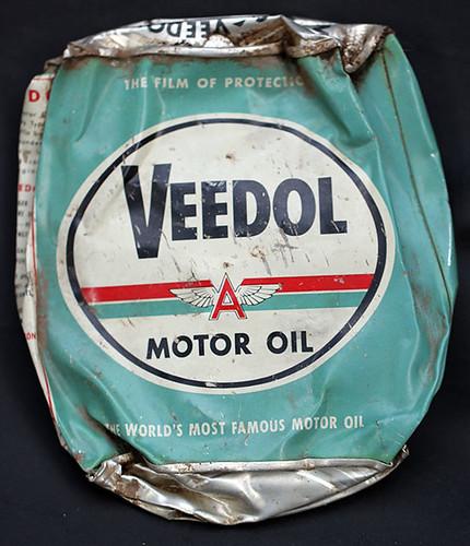 Aluminum Veedol Motor Oil Can Friendly Metal Detecting Forums