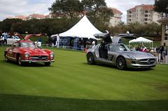 300SL vs SLS AMG