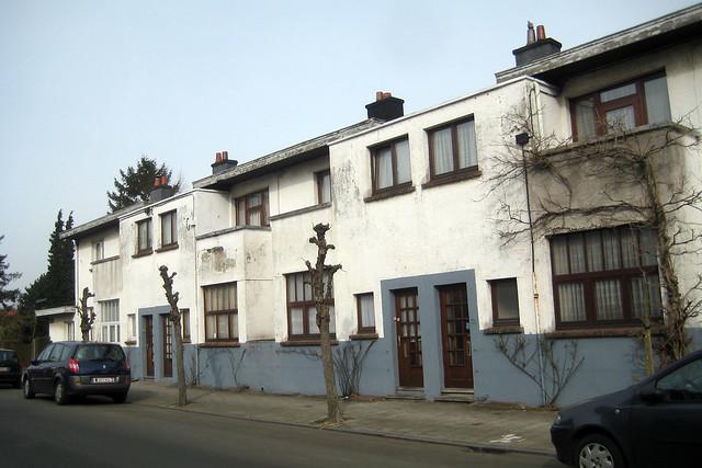 Moderne wijk sint agatha berchem flickr photo sharing - Daken en volumes ...