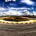 Panorámica Curva 11 Cto. de Guadix HDR / Apex Corner 11 of Guadix Circuit Panorama HDR. by alejandro LAX