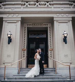 Sophia and Alan - Vancouver Club Wedding