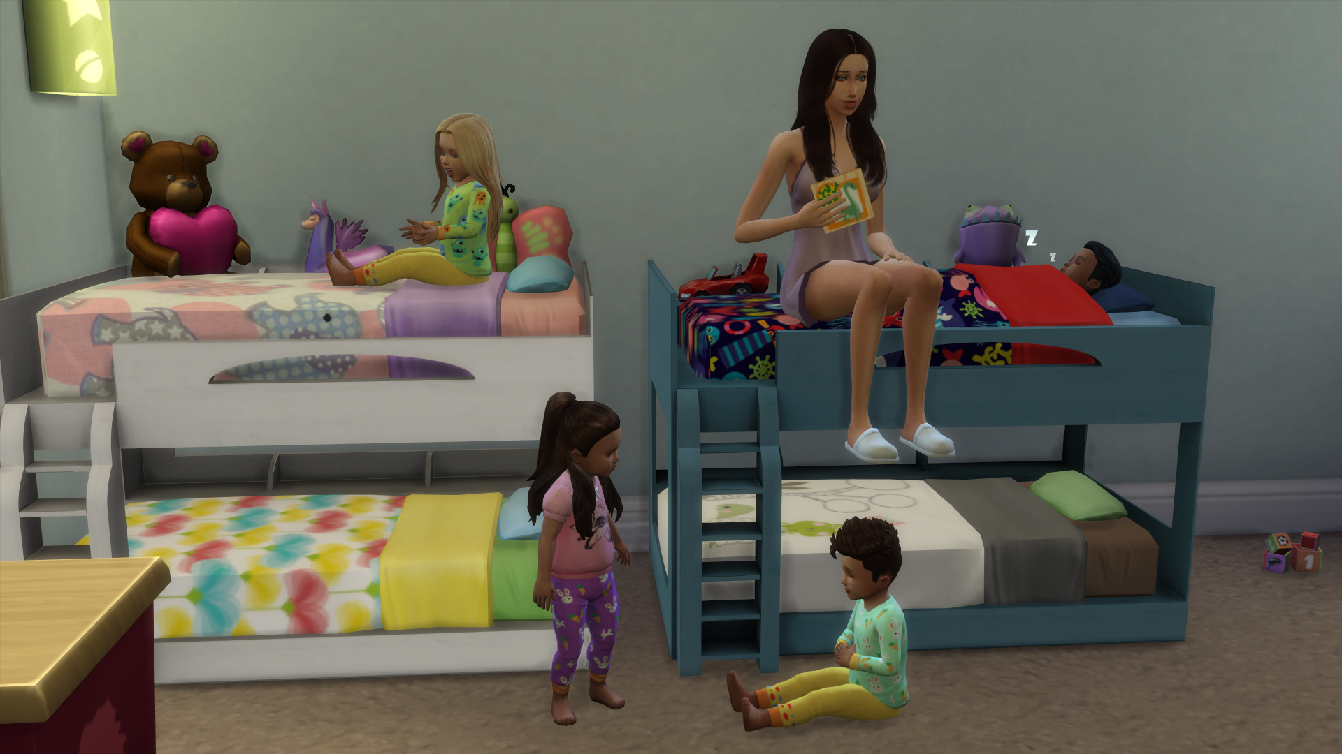 Create Bunkbeds With Moo Page 2 The Sims Forums