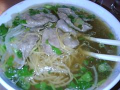 cellophane noodles(0.0), noodle(1.0), bãºn bã² huế(1.0), noodle soup(1.0), soto ayam(1.0), kuy teav(1.0), misua(1.0), kalguksu(1.0), pho(1.0), food(1.0), dish(1.0), soup(1.0), cuisine(1.0),