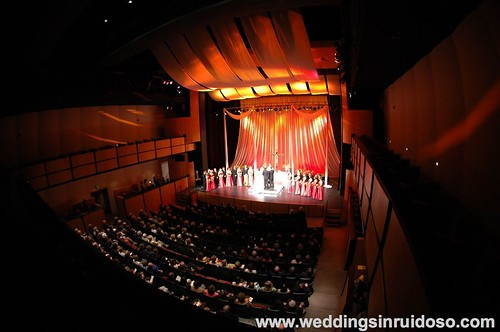 Ruidoso Weddings/Weddings in Ruidoso NM at the Spencer Theater