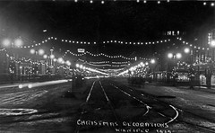 Christmas Decorations Winnipeg 1929