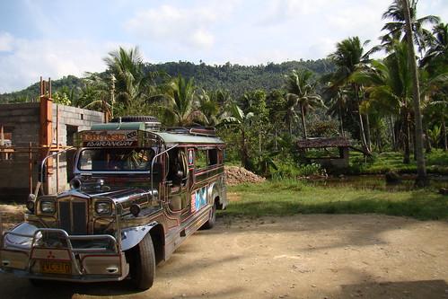 Jeepney; near Puerto Galera, Philippines