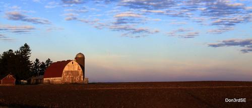 november autumn color fall field wisconsin barn rural sunrise canon landscape eos earth farm leeds wi 50d abigfave canon50d platinumheartaward don3rdse