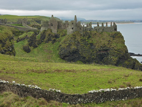 Dunluce Castle. Northern Ireland.
