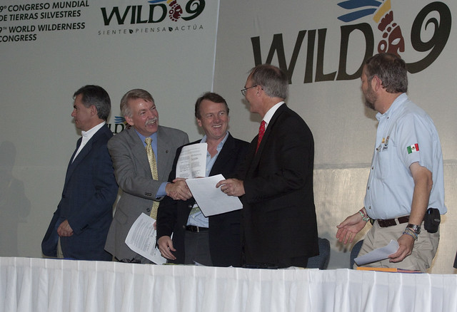 MOU on Wilderness between Canada, Mexico and US