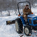 Me Plowing Snow On My New Holland Tractor by paul_houle