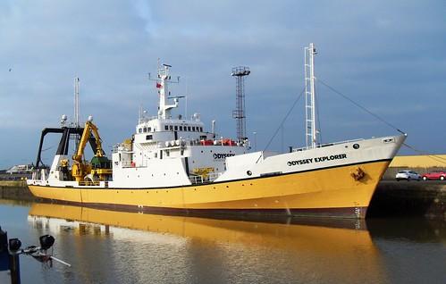 El barco Odyssey Explorer