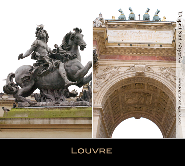 Louis XIV - The Carrousel Arc de Triomphe (Louvre museum)