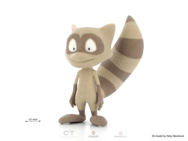 Imprimante 3D figurine