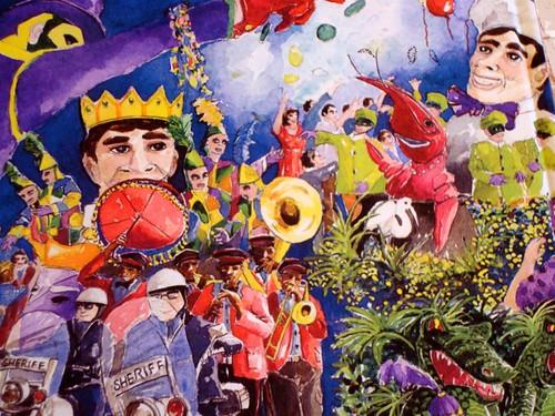 Mardi Gras Gift Book