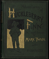 The Adventures of Huckleberry Finn (Tom Sawyer's Comrade)  [Front cover]