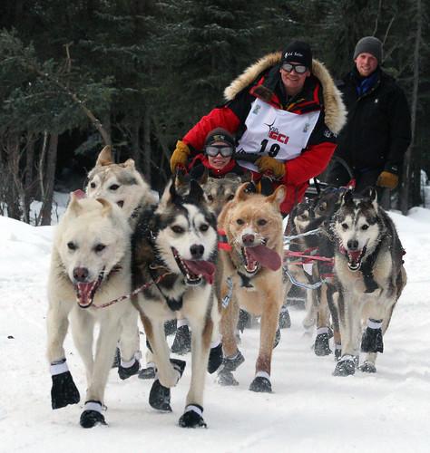 Mitch Seavey's team picking up speed