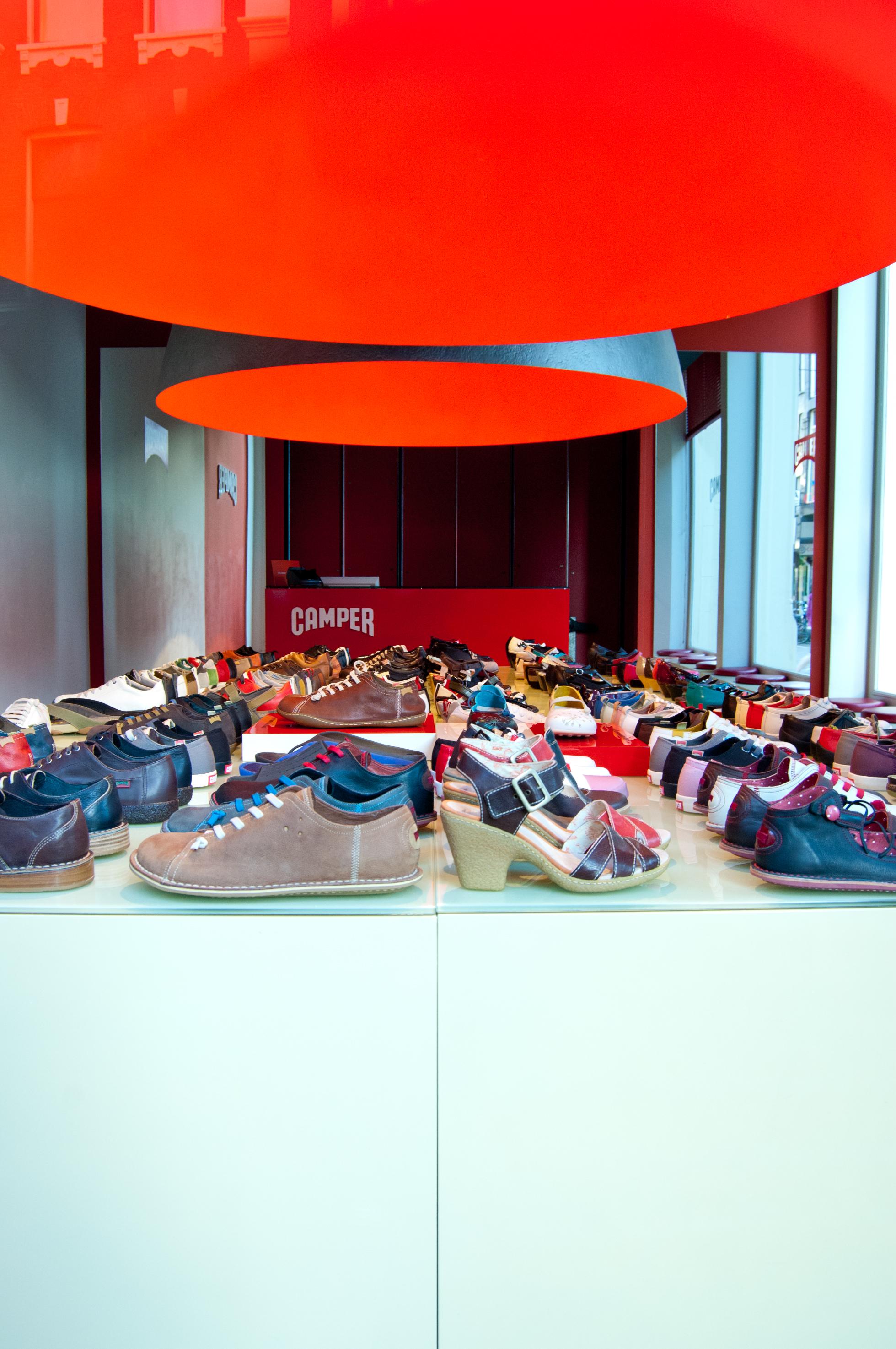 Camper Shoe Store Chicago