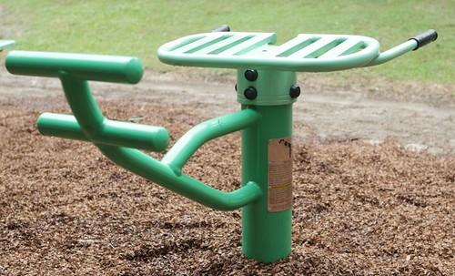 Outdoor fitness equipment AUS2