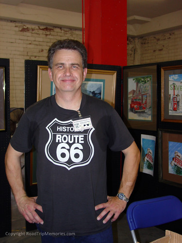 Route 66 Author & Artist Jerry McClanahan