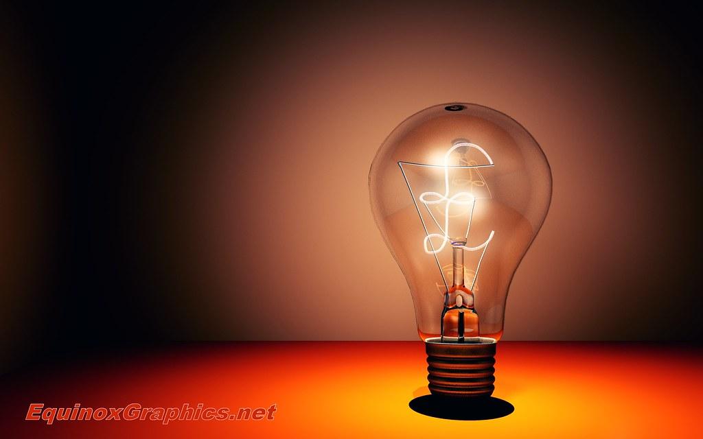 inspirational lighting. Image:Creativity / Inspirational Light Bulb Lighting K