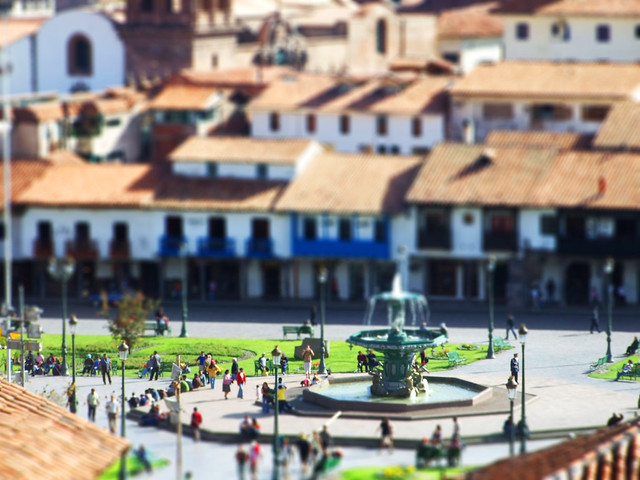 Cusco Tilt Shift