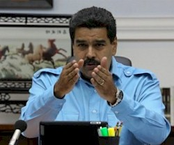 Bolivarian President of Venezuela Nicolas Madur attacks corporate media. The capitalist media has slandered the socialist revolution. by Pan-African News Wire File Photos