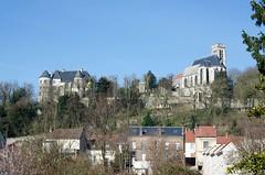 Eglise et château de Montataire