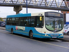 Arriva The Shires . 3619  KE55CVA . Luton Station. 26th-October-2009