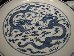 dishware, platter, blue and white porcelain, plate, tableware, ceramic, porcelain,
