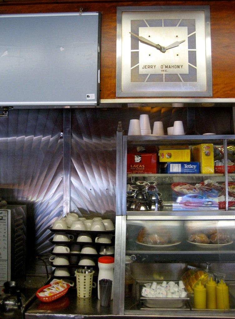 Frazer Diner Clock