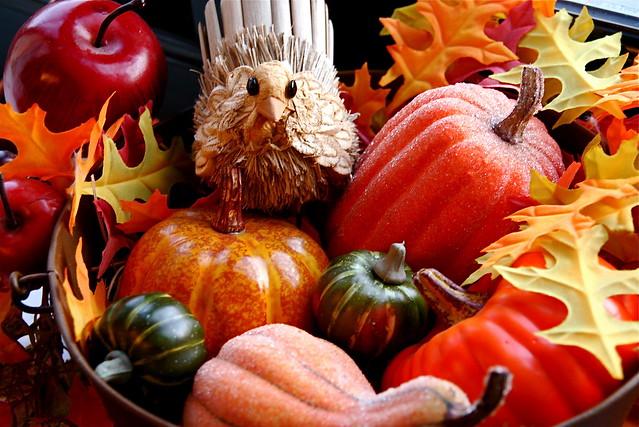 Thanksgiving comida EUA