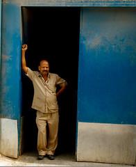 Indian Worker in Manama