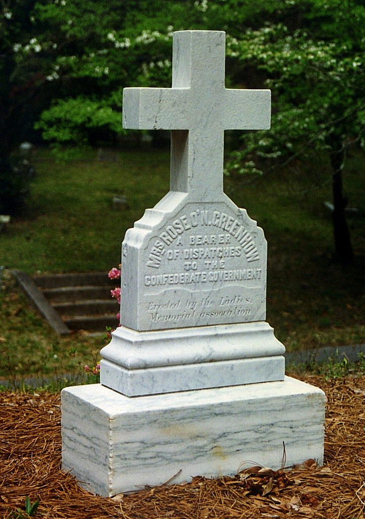Oakdale Cemetery Wilmington Nc Map.Grave Of Rose Greenhow Oakdale Cemetery Wilmington Nc Flickr
