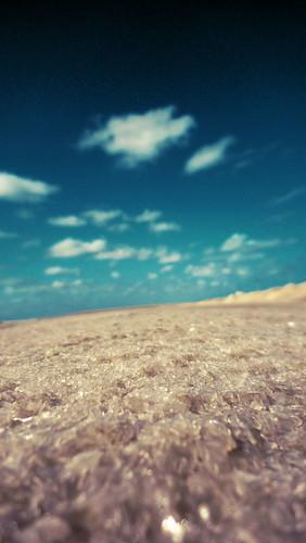 viaje macro mar colombia camino salt salinas enero cielo reflejo desierto sal 2010 calor salado caribe brillo cristales enfoque azúl manaure laguajira salinasdemanaure cristalesdesal