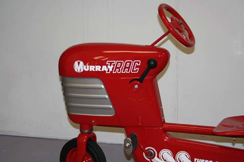Murray Pedal Tractor Restoration : Murray tractor restored this dump trac pedal
