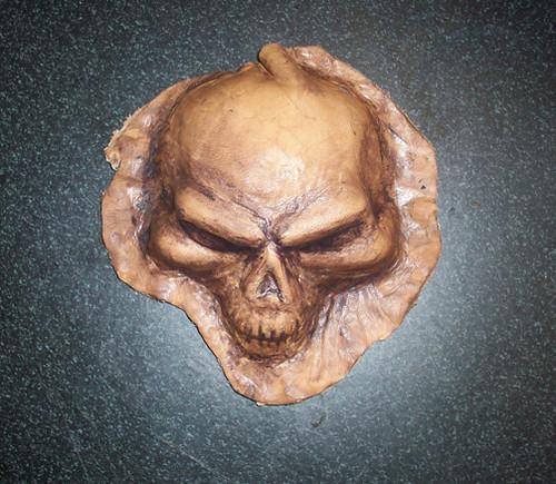 皮雕骷髅头 | flickr –