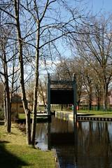 Stadtschleuse in Brandenburg