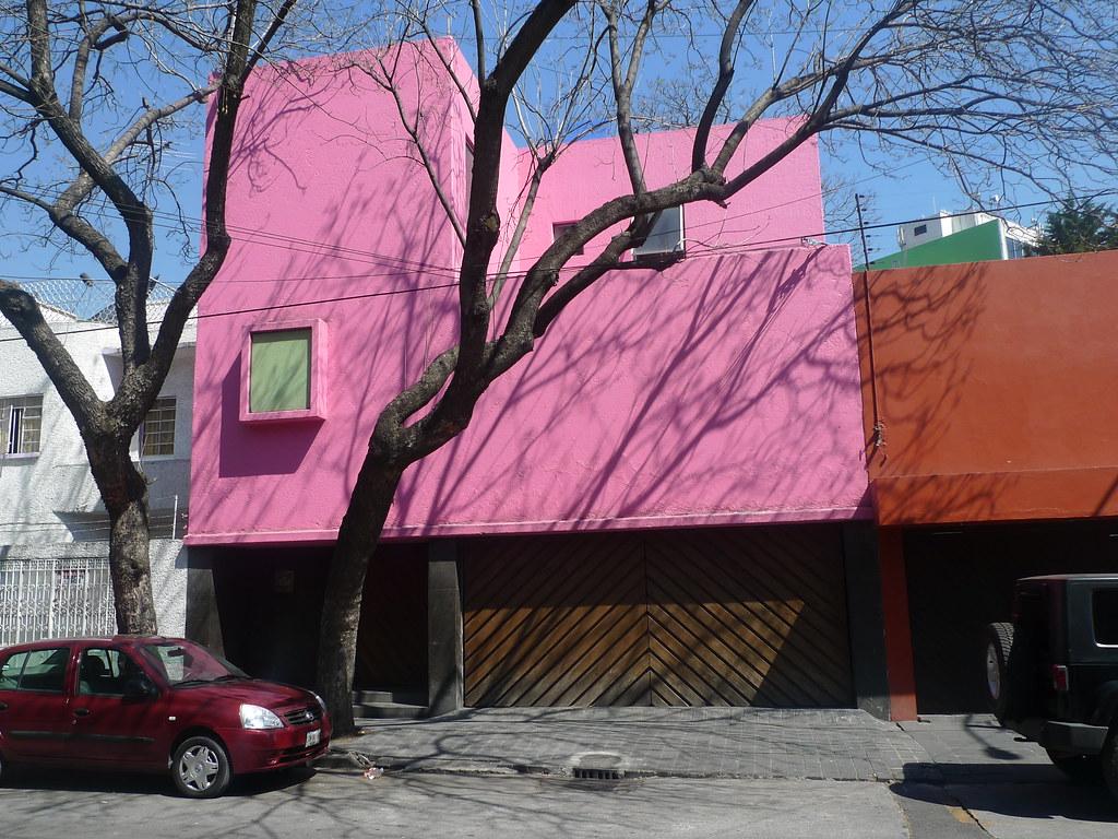 Luis Barragan's Casa Gilardi - a photo on Flickriver