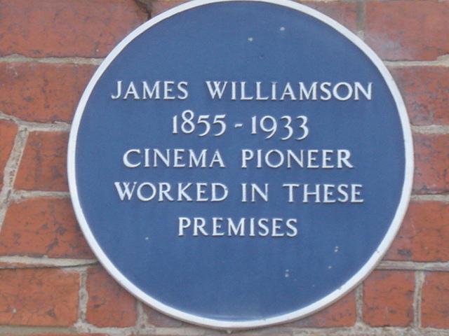 Photo of James Williamson blue plaque