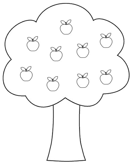 Apple Tree Clipart To Color 14 Cm Flickr Photo Sharing