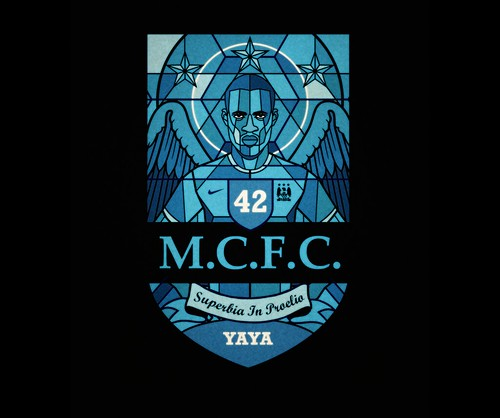 Yaya Toure finished design