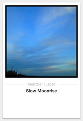Slow Moonrise