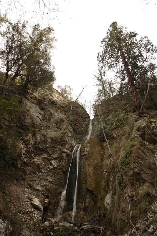 Admiring Cape Horn Canyon Falls